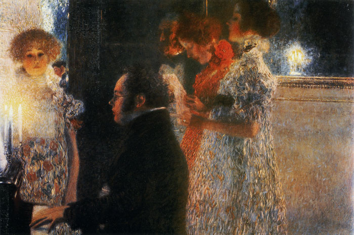 Schubert at the Piano, 1899  Painting Reproductions