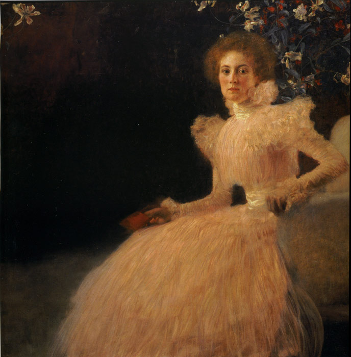 Portrait of Sonja Knips, 1898  Painting Reproductions