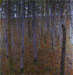 Klimt, Gustave Beech Wood I, 1902 Art Reproductions