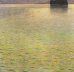 Klimt, Gustave Island in the Attersee, 1901 Art Reproductions