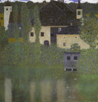 Klimt, Gustave Scloss Kammer on the Attersee I , 1908 Art Reproductions