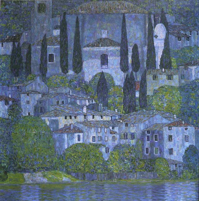 Church at Cassone, 1913  Painting Reproductions