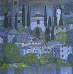 Klimt, Gustave Church at Cassone, 1913 Art Reproductions