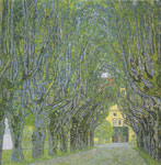 Klimt, Gustave Avenue in the Park, 1912 Art Reproductions