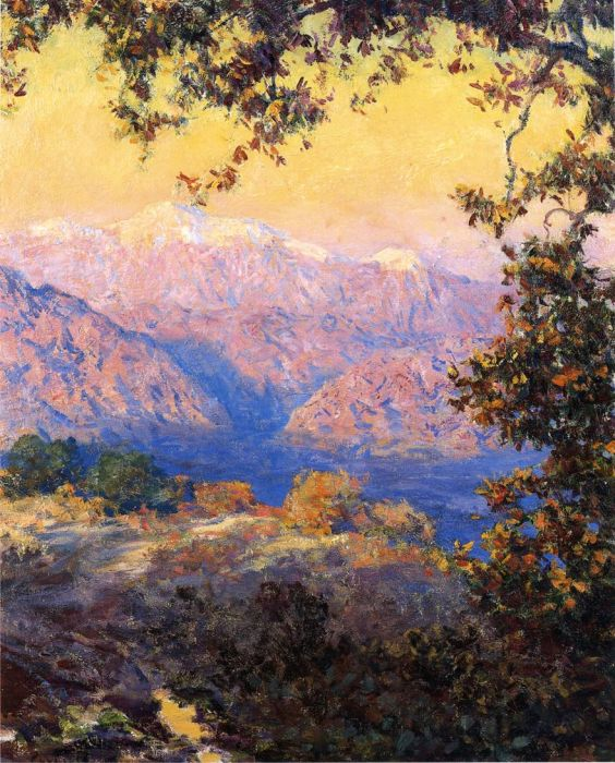 Sunset in the High Sierras  Painting Reproductions