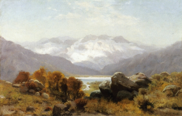 Twin Lakes, Colorado , 1879  Painting Reproductions
