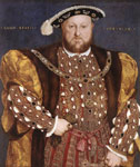 3949 Portrait of Henry VIII, 1540 Art Reproductions