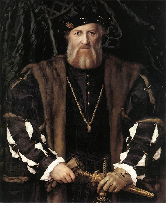 Portrait of Charles de Solier, Lord of Morette, 1534-1535  Painting Reproductions