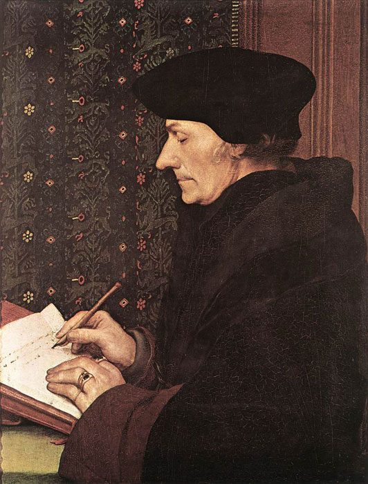 Erasmus, 1523  Painting Reproductions