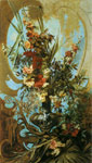 Makart, Hans Grosses Blumenstuck [Large Flower Piece], c.1884 Art Reproductions