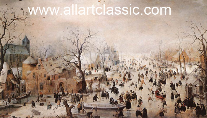 Winter  Painting Reproductions