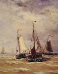Mesdag, Hendrik Willem Preparations for Departure Art Reproductions