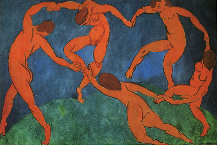 The Dance, 1910  Painting Reproductions