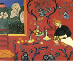 Matisse, Henri The Red Room,1908 Art Reproductions