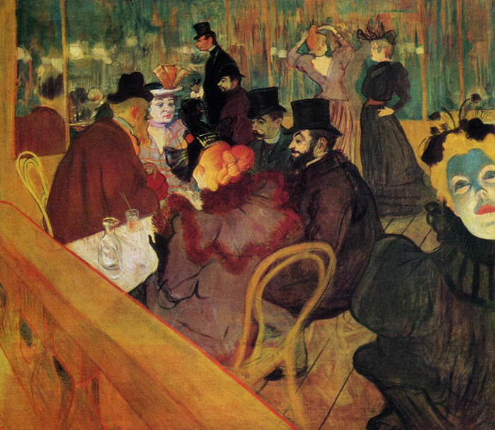 At the Moulin Rouge , 1892	  Painting Reproductions
