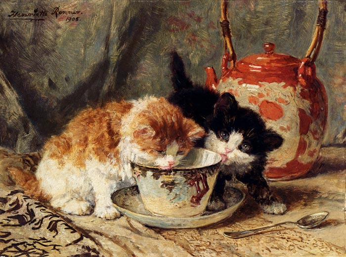 Paintings Ronner-Knip, Henriette