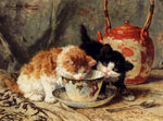 0 Tea Time, 1905 Art Reproductions