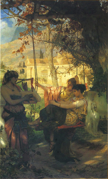 The s Song of Slaves, 1884  Painting Reproductions