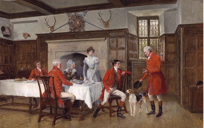 The Huntsman's Story, 1903  Painting Reproductions