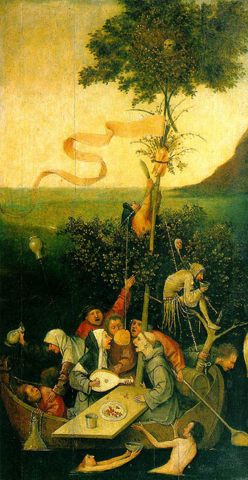 The Ship of Fools, 1490-1500  Painting Reproductions