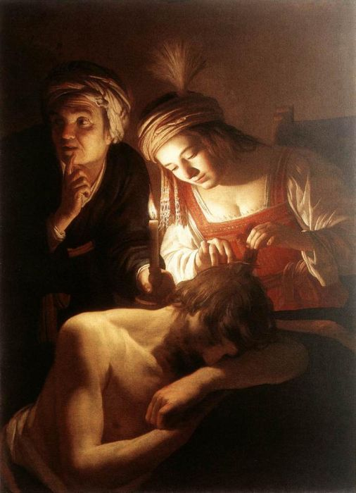 Samson and Delilah, 1615  Painting Reproductions
