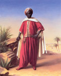 Vernet, Horace Portrait of an Arab Art Reproductions