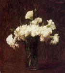 0 White Carnations, 1904 Art Reproductions