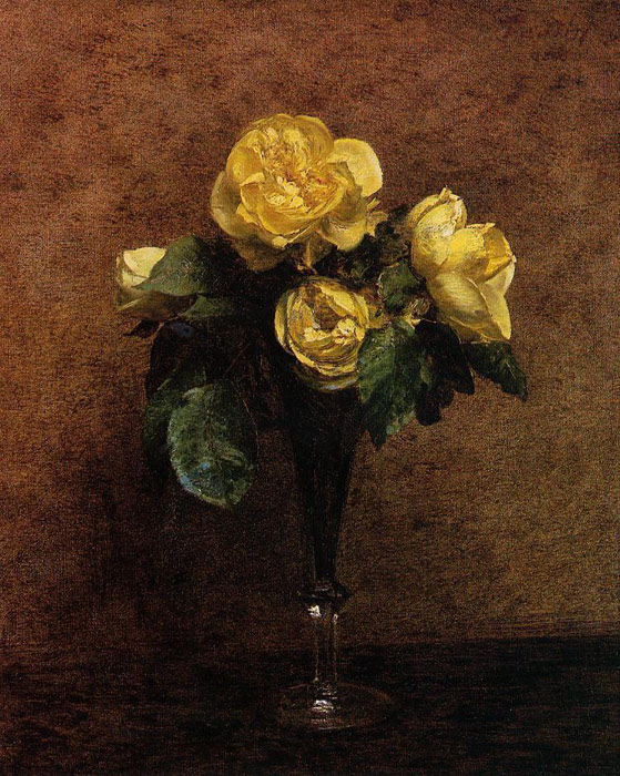 Fleurs: Roses Marechal Neil, 1883  Painting Reproductions