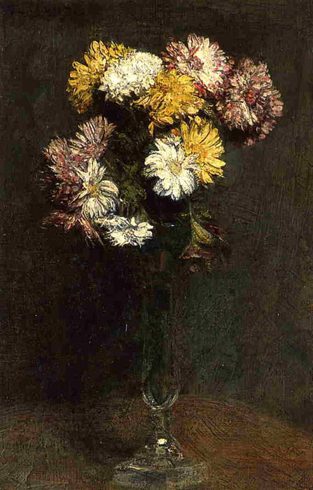Chrysanthemums, 1871  Painting Reproductions