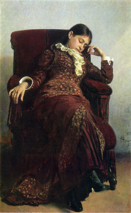 Rest, 1882  Painting Reproductions