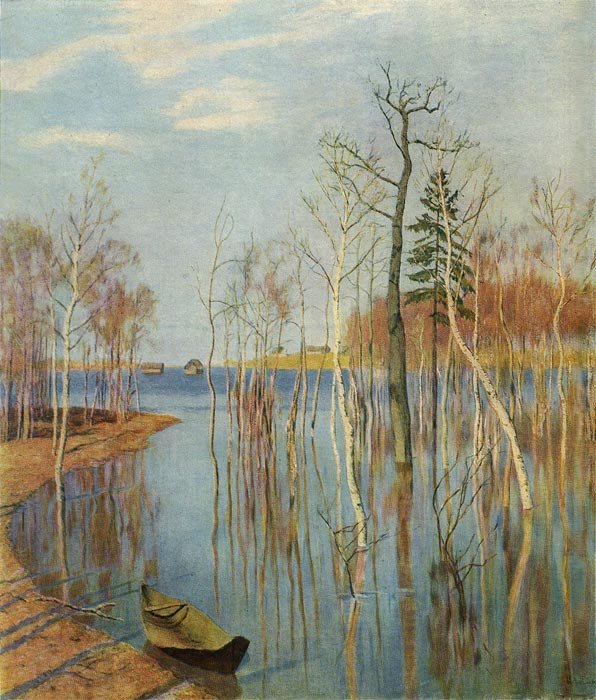 Paintings Levitan, Isaac Ilyich