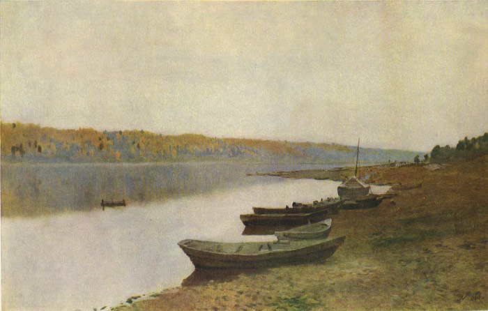 By the Volga River, 1888  Painting Reproductions