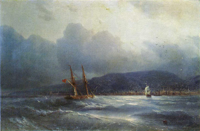 Trebizond From the Sea, 1856  Painting Reproductions