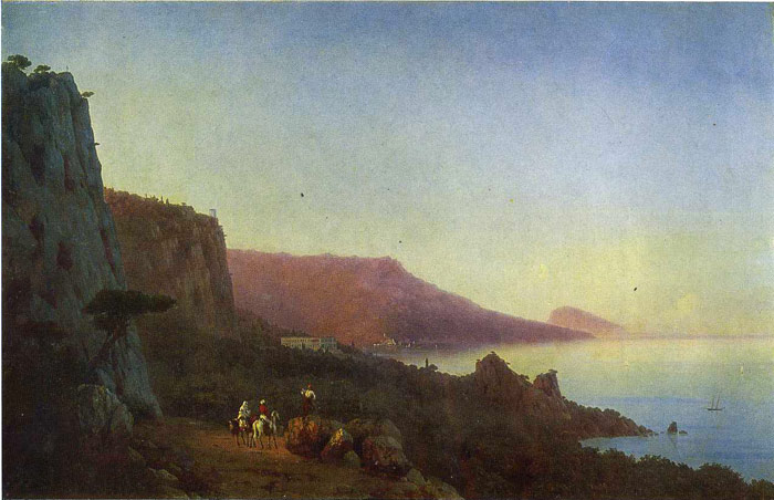 Evening in the Crimea,  1848  Painting Reproductions