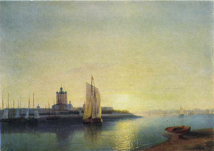 The Smolny Convent, 1849  Painting Reproductions