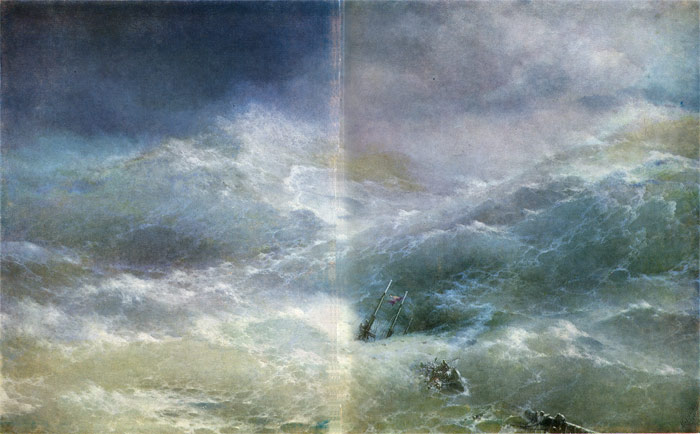 The Wave, 1889  Painting Reproductions