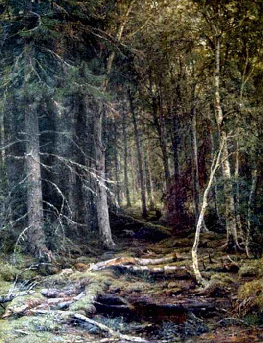 In the Forest Shishkin, Ivan Painting Reproductions