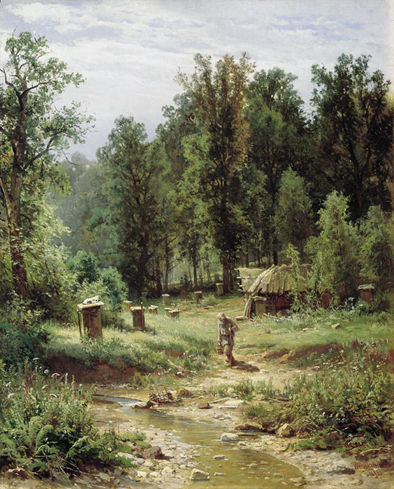 Apiary in the Wood. 1876  Painting Reproductions