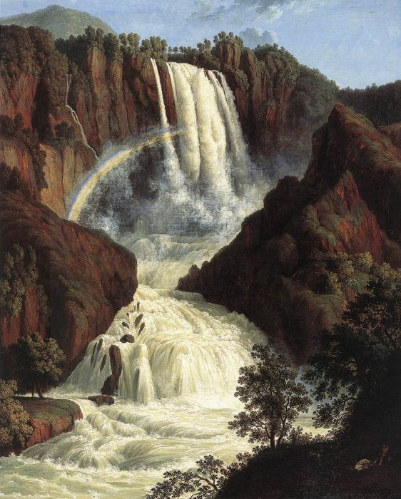 The Waterfalls at Terni, 1779  Painting Reproductions