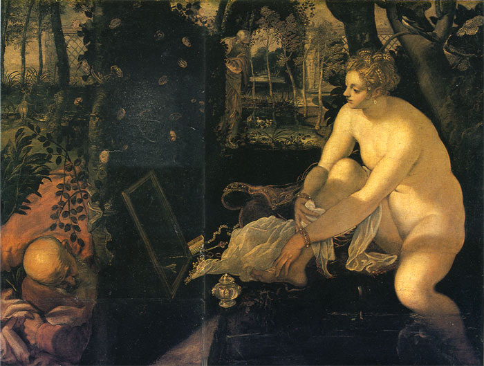 Susanna and the Elders, 1557  Painting Reproductions