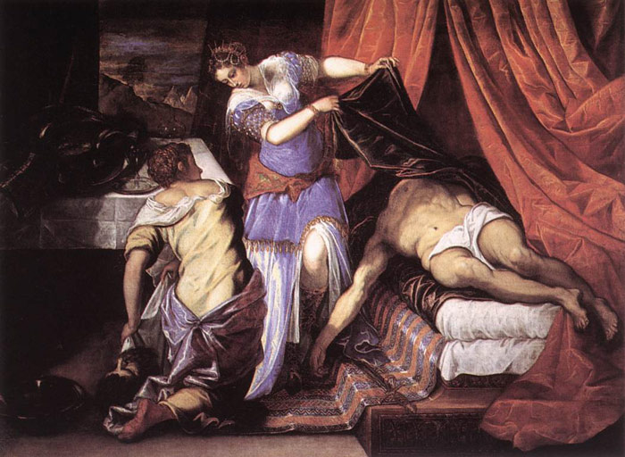 Judith and Holofernes, 1550s  Painting Reproductions