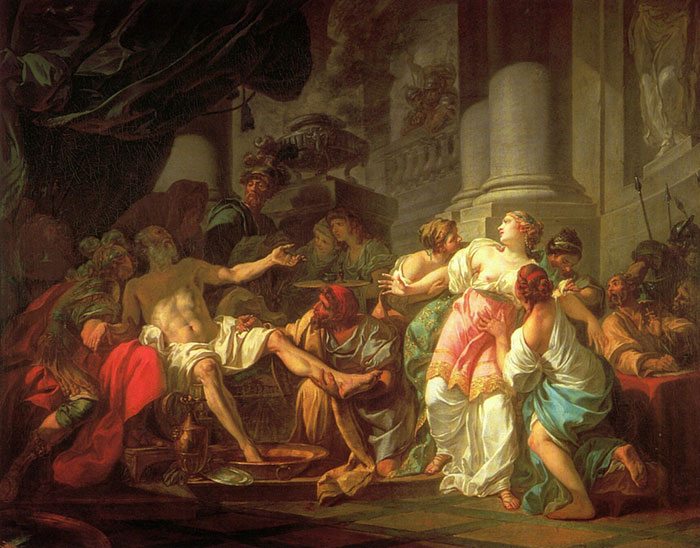 The Death of Seneca  Painting Reproductions