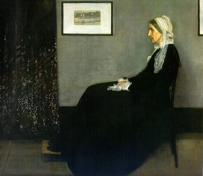 Portrait of the Painter's Mother, 1871  Painting Reproductions