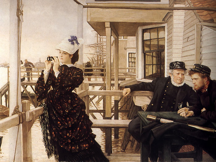 The Captain's Daughter, 1873 Tissot, James Jacques Joseph Painting Reproductions