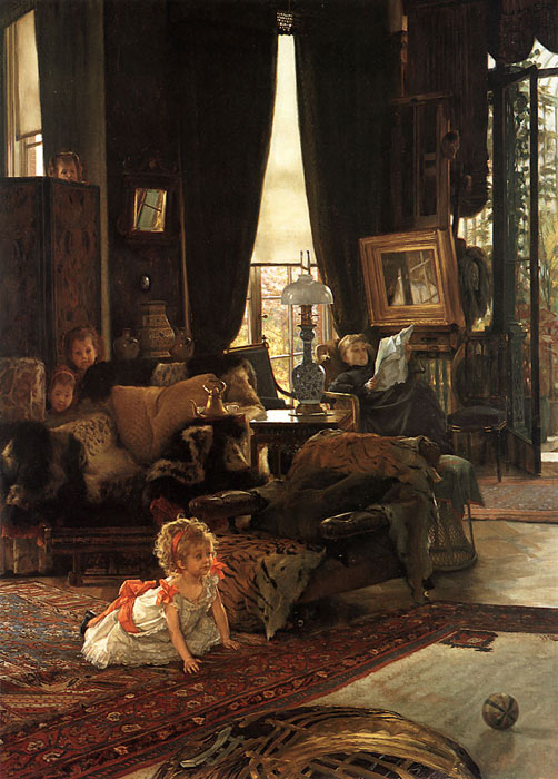 Hide and Seek, c.1880-1882  Painting Reproductions
