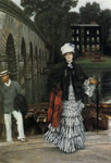 Tissot, James Jacques Joseph The Return from the Boating Trip, 1873 Art Reproductions