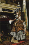 Tissot, James Jacques Joseph La chemine, c.1869 Art Reproductions