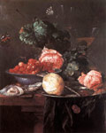 Heem, Jan Davisz de Still-life with Fruits, 1652 Art Reproductions