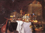 Heem, Jan Davisz de A Table of Desserts, 1640 Art Reproductions