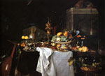 Heem, Jan Davisz de Still Life Of Dessert, 1640 Art Reproductions
